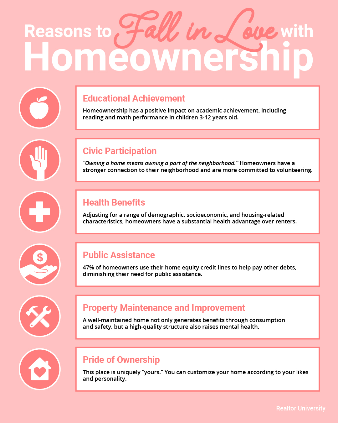 Top Reasons to Love Homeownership [INFOGRAPHIC]   Simplifying The Market